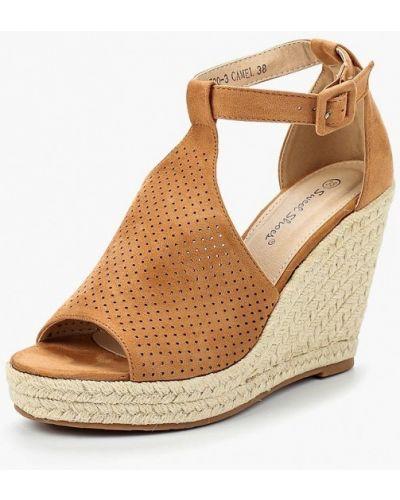 Коричневые эспадрильи Sweet Shoes