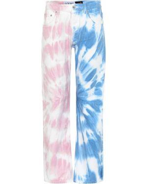 Прямые джинсы mom летние Loewe