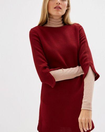 Повседневное платье бордовый красный Lautre Chose