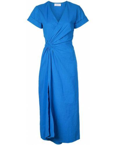 Платье миди с запахом с V-образным вырезом Alc