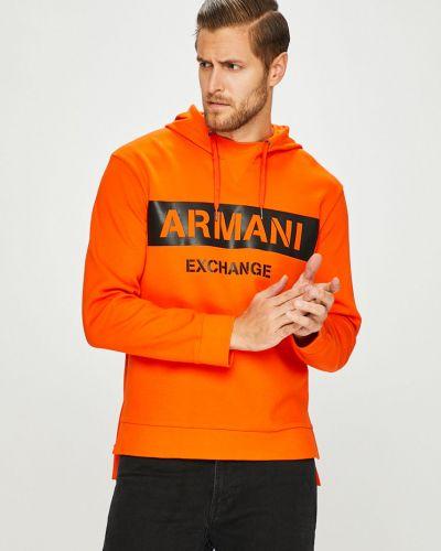Кофта с капюшоном прямая Armani Exchange