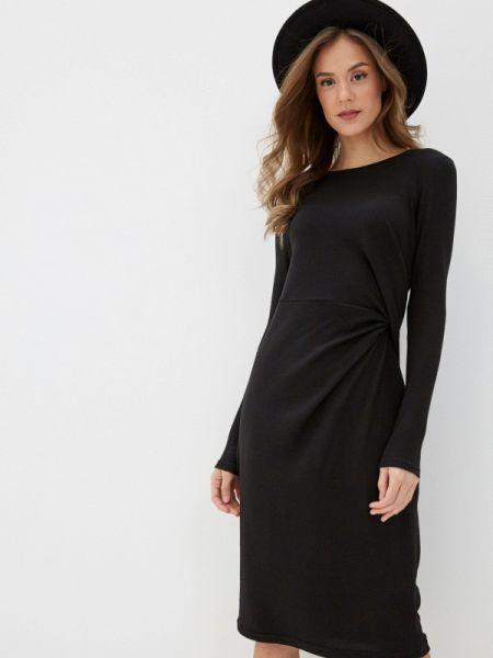 Платье прямое черное Noisy May