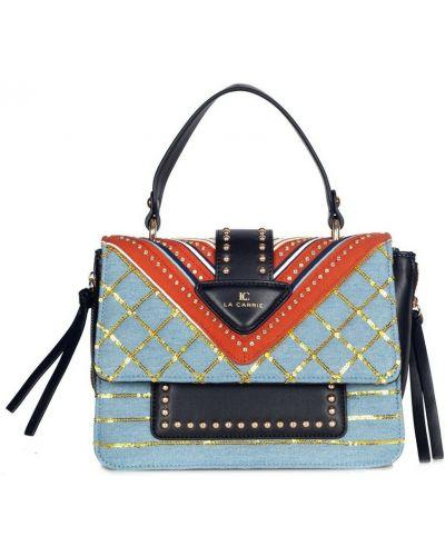 Niebieska torebka La Carrie