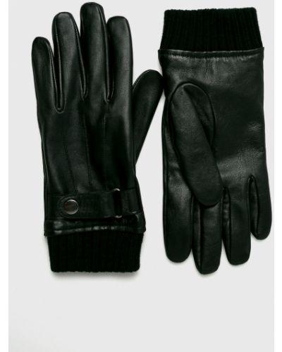 Skórzany rękawiczki akryl czarny Medicine