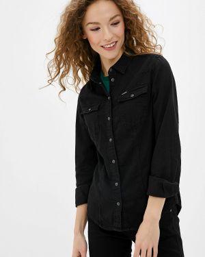 Джинсовая рубашка черная G-star