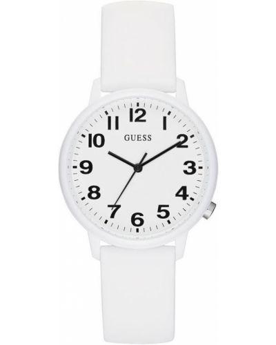 Водонепроницаемые часы кварцевые с силиконовым ремешком Guess Originals