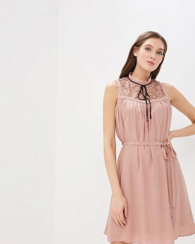 Вечернее платье розовое Lusio