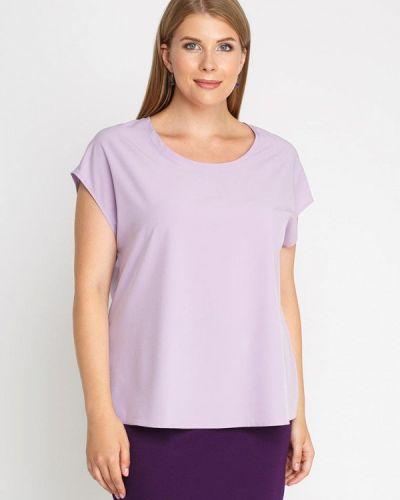 Блузка фиолетовый весенний Lina