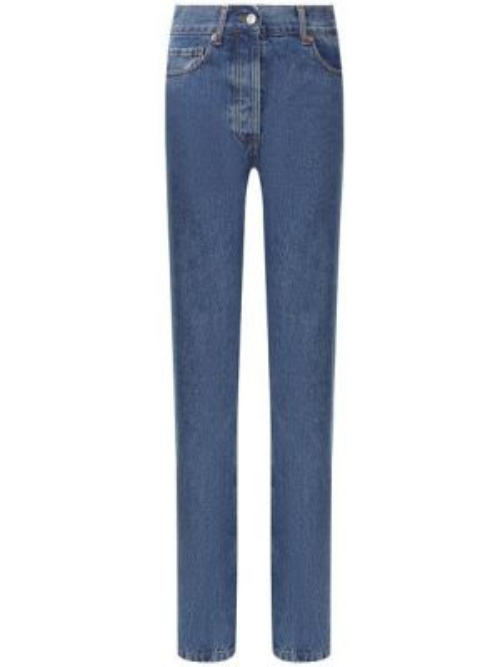 Мягкие хлопковые повседневные черные прямые джинсы Paul&joe