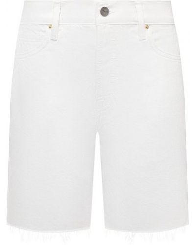 Джинсовые шорты - белые Frame Denim