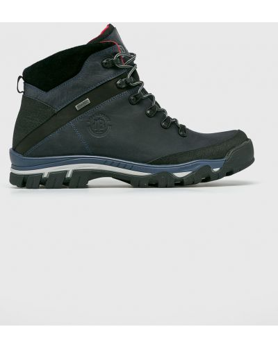 Кожаные ботинки треккинговые на шнуровке Badura