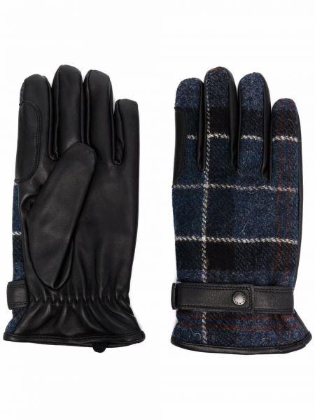 Rękawiczki skorzane - czarne Barbour