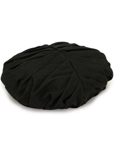 Czarny beret wełniany Yohji Yamamoto