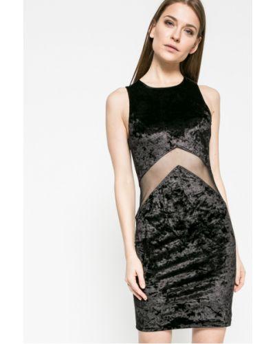 Платье мини однотонное со вставками Kiss My Dress