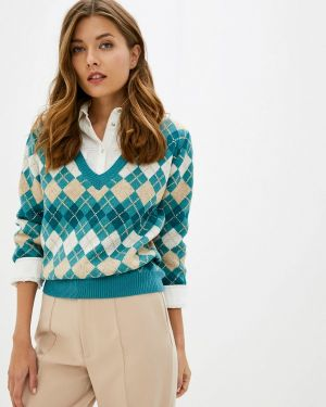 Бирюзовый свитер Care Of You