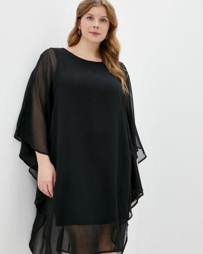 Повседневное черное платье Junarose