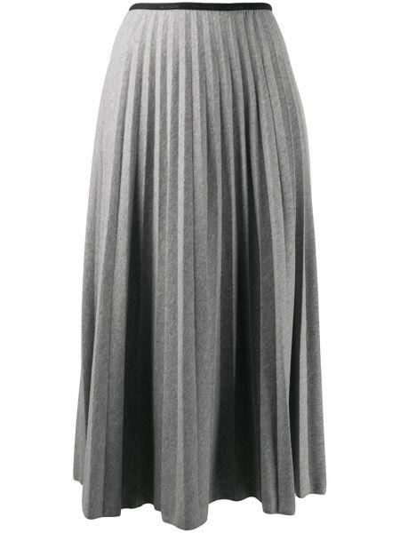 Spódnica midi bawełniana Moncler