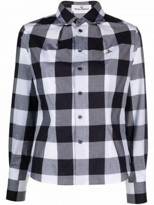 Серая хлопковая рубашка Vivienne Westwood