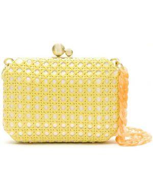 Желтая соломенная сумка Isla