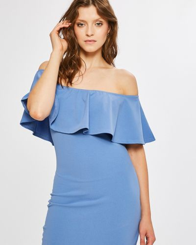 Облегающее платье трикотажное однотонное Answear