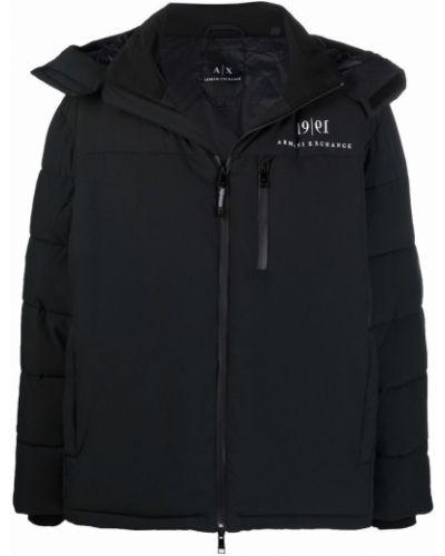 Белая куртка из полиамида Armani Exchange
