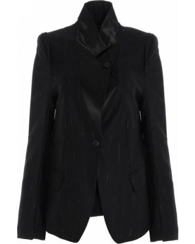 Czarny płaszcz Ann Demeulemeester