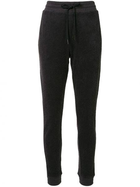Зауженные брюки - черные Alala