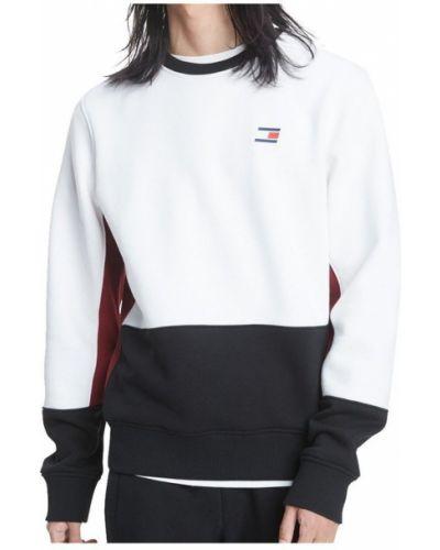 Biała bluza z długimi rękawami Tommy Hilfiger