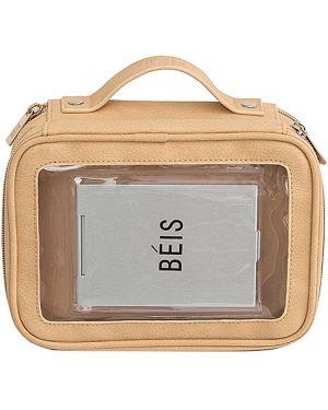 Skórzana torebka walizka z uchwytem Beis