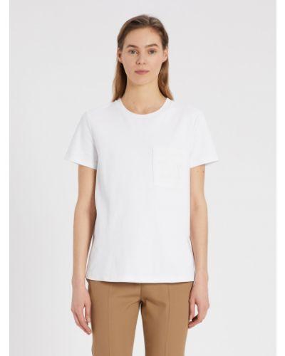Белая футболка Maxmara