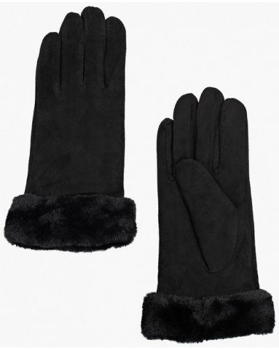 Кожаные черные перчатки Marks & Spencer