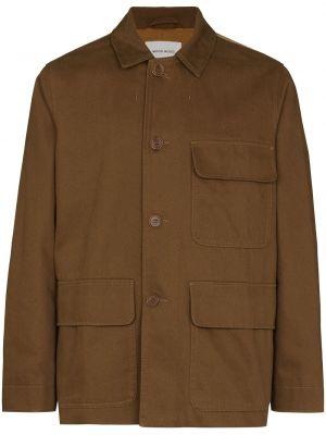 Куртка на пуговицах - коричневая Wood Wood