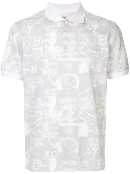 Рубашка с короткими рукавами на пуговицах Kent & Curwen