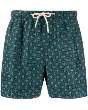 Kąpielówki z kieszeniami zielony Peninsula Swimwear