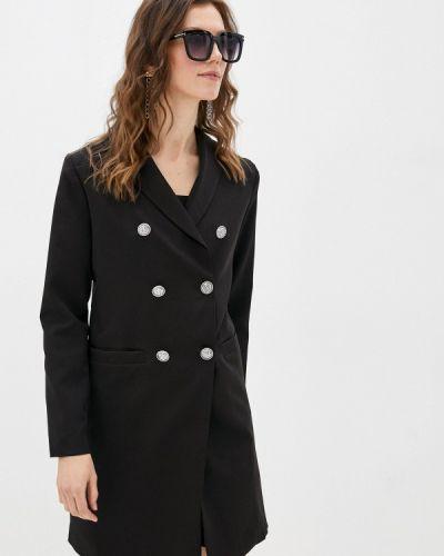 Прямое платье - черное Moki