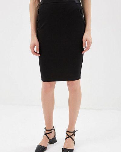 Черная юбка облегающая Guess Jeans