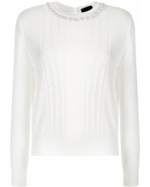 Блузка с длинным рукавом с вышивкой с бусинками Andrea Bogosian