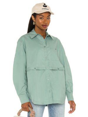 Bluzka elegancka - niebieska L'academie