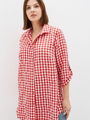 Рубашка - красная Prewoman
