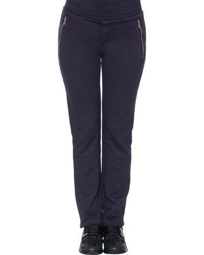 Спортивные брюки из вискозы синие Bogner