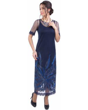 Вечернее платье летнее сетчатое Wisell