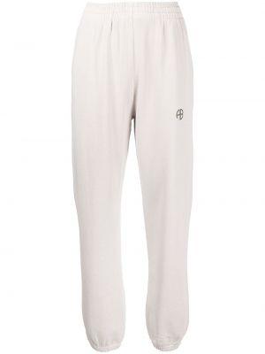 Серые брюки с принтом Anine Bing