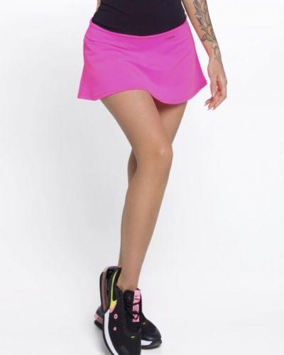 Черная юбка-шорты с поясом свободного кроя Designed For Fitness