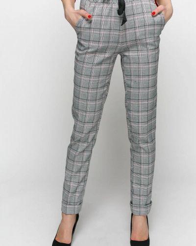 Классические брюки серые весенний Zubrytskaya