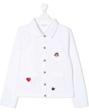 Белая джинсовая куртка Sonia Rykiel