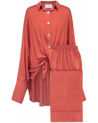 Brązowa piżama z wiskozy Sleeper