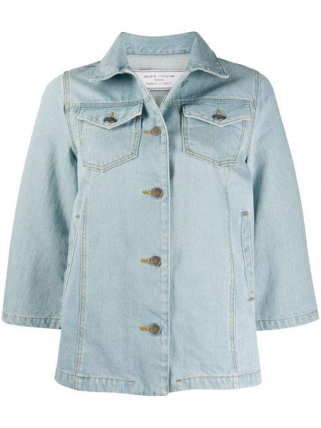 Синяя джинсовая куртка на пуговицах Société Anonyme