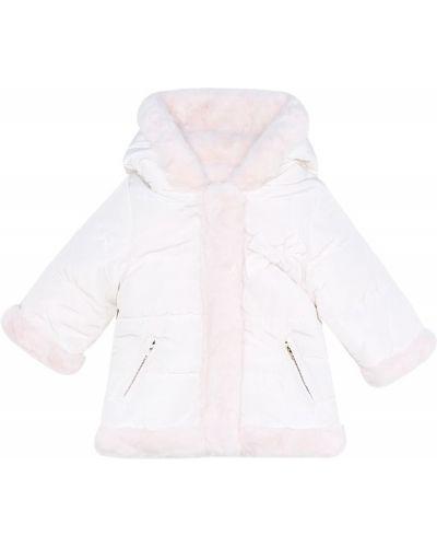Розовая куртка двусторонняя из искусственного меха Tartine Et Chocolat