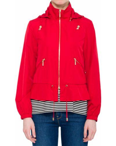 Ветровка из полиэстера - красная Armani Jeans