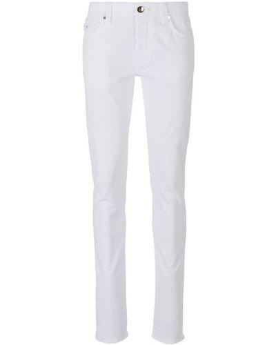 Niebieskie jeansy bawełniane Tramarossa